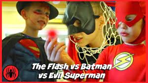 Halloween Costumes Flash Batman Evil Superman Red Superhero