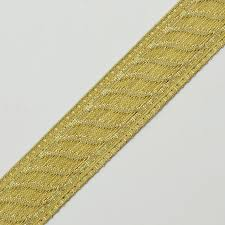 metallic gold ribbon 21mm metallic jacquard ribbon trim by yard smb 1002a
