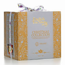 tea shop organic collection gold gift cube 96