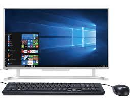 pc de bureau conforama pc tout en un acer c24 760 002 vente de ordinateur de bureau
