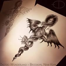 danleytattoos drfeelgood motleycrue tattoo flash
