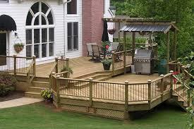 pressure treated lumber deck atlanta decking u0026 fence company
