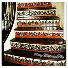 Mexican Patio Decor Mexican Tiles Kitchen Bath U0026 Stairs