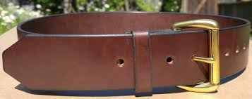 Handmade Belts And Buckles - handmade n leather handmade leather accessories
