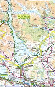 Stirling Scotland Map Scotland Maps