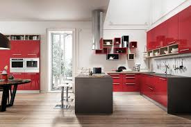 Online Get Cheap Lacquer Kitchen Cabinet Aliexpresscom Alibaba - Red lacquer kitchen cabinets