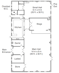 hall layout