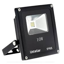 Outdoor Led Flood Lights by 2 X 15w Rgb Led Flood Light With Dimmer 16 Colors 4 Modes Ustellar
