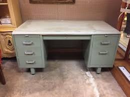 Solid Core Door Desk Vintage Steel Desk Ebay