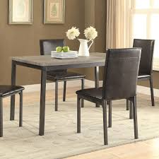coaster garza dining table with four legs value city furniture