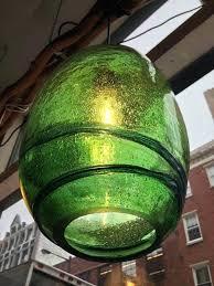 Green Glass Pendant Light Pendant Light Green Ricardoigea