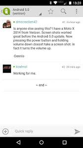 not working on android android 5 0 verizon screen not working android forums at