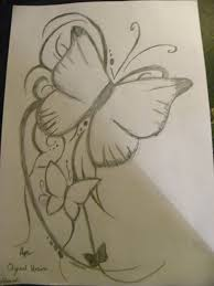 butterfly drawing pictures pencil how to draw a butterfly for kids