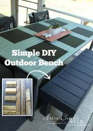 easy bench plans bench pinterest bench plans bench and