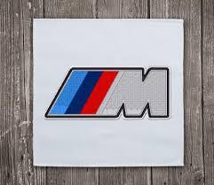logo bmw stickmuster logo bmw m class 84 mm