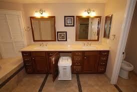 Bathtub Bench Seat 6 Foot Tub In Window Alcove U0026 Glass Tile Inlaid Floors U0026 Shower