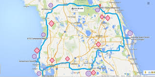 wisconsin scenic drives map the central florida road trip is right here and you ll