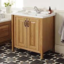 Traditional Bathroom Vanity Units by Grenville Solid Wood Furniture Online At Victorian Plumbing Co Uk