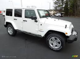 white jeep sahara 2017 bright white 2012 jeep wrangler unlimited sahara 4x4 exterior