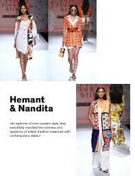 indian designer hemant u0026 nandita wsn16 ss17 indian designers