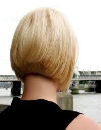 short inverted bob back view haircuts black
