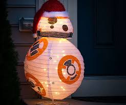 wars bb 8 lighted lawn ornament