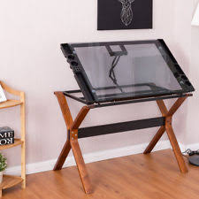 Drafting Table Wood Adjustable Drafting Table Wood Craft Drawing Board Desk Station