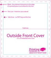 Bleed For Business Cards Free Download Of Indesign Templates For Business Cards