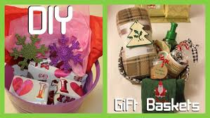 diy gift baskets parents easy