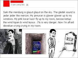Rip English Meme - meme comic indonesia on twitter r i p for english language