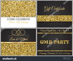 Invitation Cards Party Luxurious Invitation Cards Party Wedding Birthday Stock Vector
