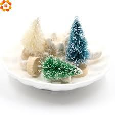 15pcs diy tree 3colors small pine tree mini trees