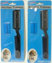 amazon com 2 pack manual pet hair trimmer with extra blades and