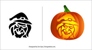 Free Scary Halloween Pumpkin Stencils - halloween 2012 pumpkin carving patterns 15 scary stencils template