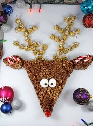 hershey u0027s no bake christmas reindeer centerpiece