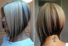 bob hairstyle inverted angled bob hairstyles elegant 15 super