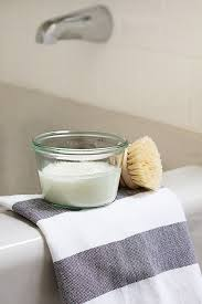 say bye to soap scum with this diy bathtub scrub hello glow