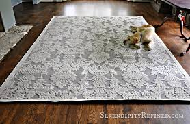 Dining Room Area Rugs by Serendipity Refined Blog Gray And Ivory Dining Room Area Rug
