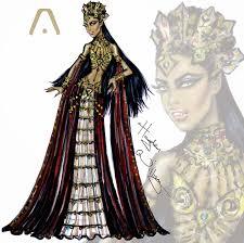 hayden williams fashion illustrations haute halloween queen of