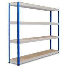 Heavy Duty Shelves by Extra Heavy Duty Shelving U2013 2440 X 2440 Mm Blue U0026 Grey Key