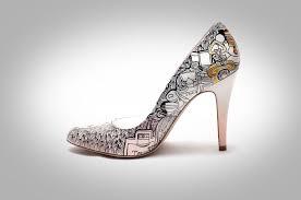 wedding shoes etsy beautiful painted wedding shoes