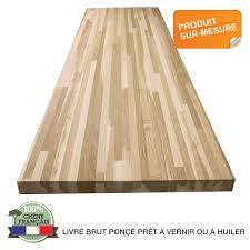 protection plan de travail bois cuisine plan de travail chêne brun massif français choix 26 32 38mm