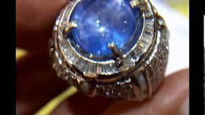 model cincin blue safir 622 cincin pria blue safir srilanka ring emas putih dan berlian