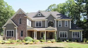peaks gray siding with brick future homes pinterest grey