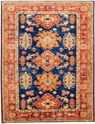 Pottery Barn Persian Rug by Peach And Navy Geometric Kazak Rug Orientalrugs Geometrics