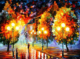 afremov oil on canvas palette knife buy original paintings art