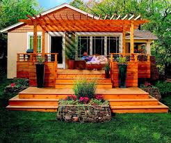 Backyard Decks Images by Triyae Com U003d Decorating Ideas For Backyard Deck Various Design