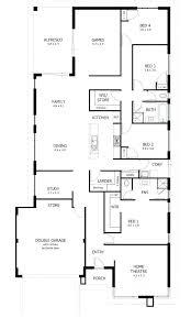simple house blueprints simple 4 bedroom house plans tarowing club