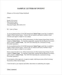 Beta Gamma Sigma Resume Awesome Collection Of How To Write A Letter Of Intent For