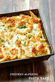 pasta bake recipes chicken alfredo pasta bake the wicked noodle